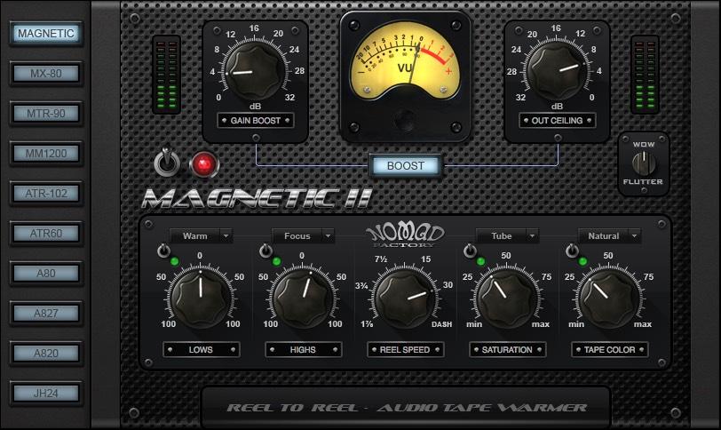 MAGNETIC II ドラムセッティング
